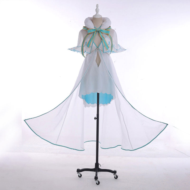 Fate/GrandOrder FGO ジャンヌ?ダルク 絆礼装 シー?エンジェル 水着 水色 コスプレ衣装