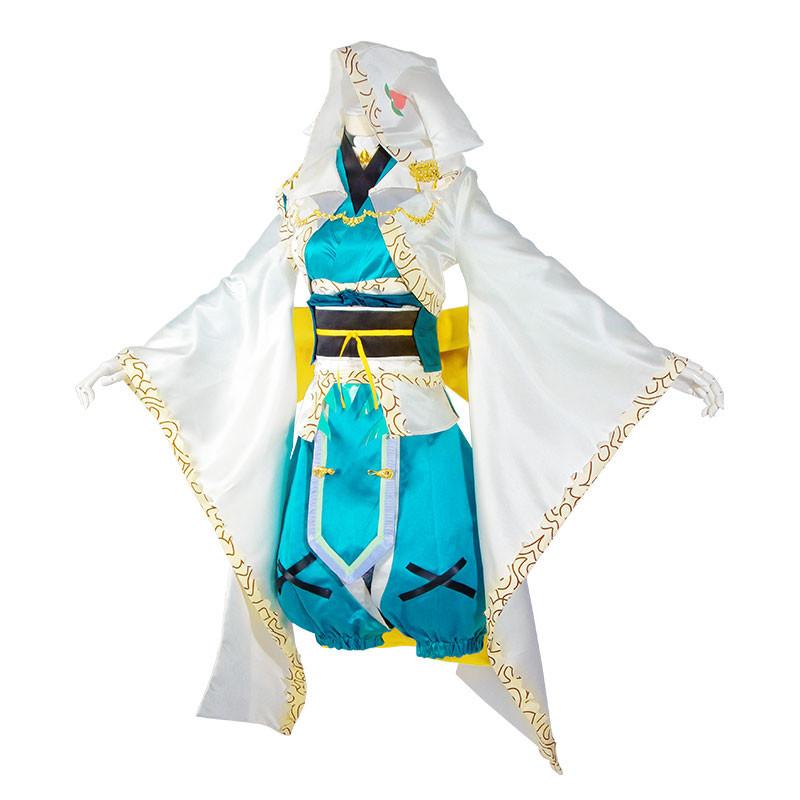 Fate/Grand Order 「忠犬待ったなし」概念礼装 清姫 2019 コスプレ衣装 和服 着物