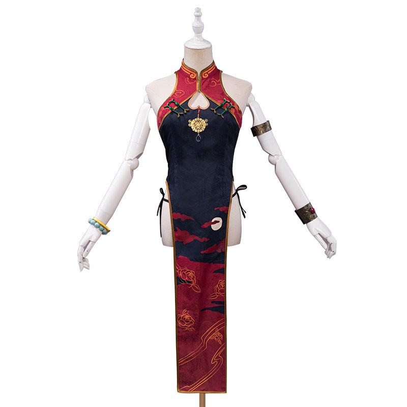 FGO 酒呑童子 チャイナ服 中国風チャイナドレス