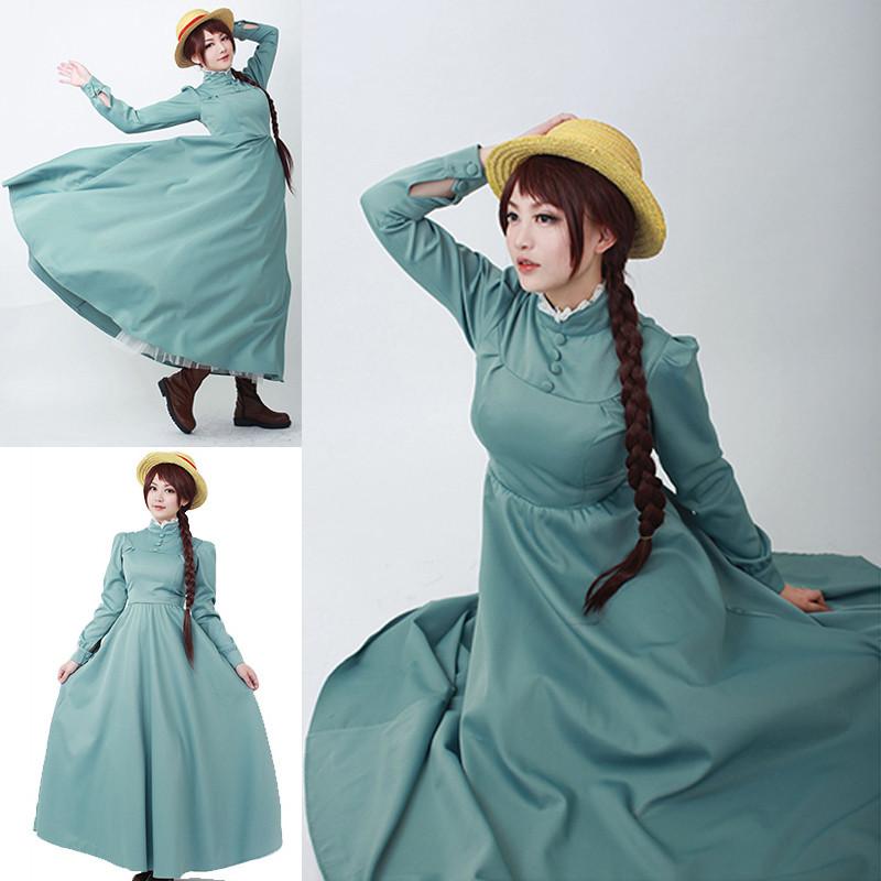 ハウルの動く城 ソフィー 洋服 ワンピース コスプレ衣装