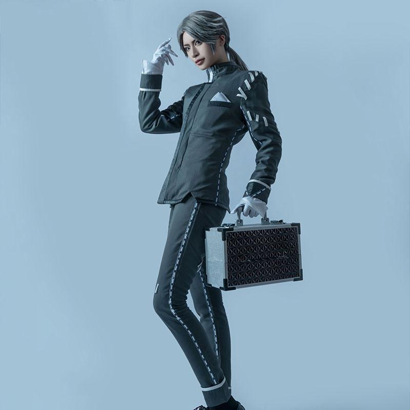 Identity Ⅴ イソップ・カール 納棺師 灰色 全セット コスプレ衣装