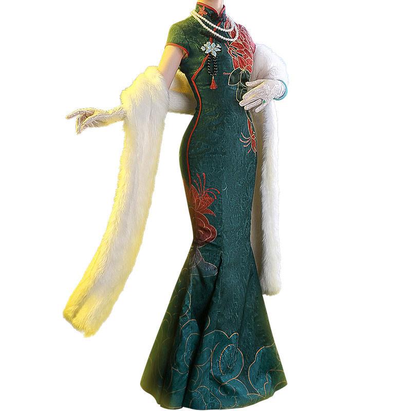 アイデンティティV Identity V 赤蝶十三娘 チャイナドレス 中国風 コスプレ衣装 仮装