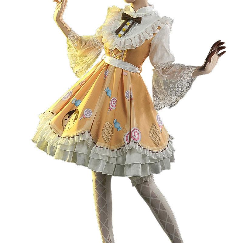 アイデンティティV Identity V lolita 糖菓少女 機械技師 可愛 仮装 コスチューム