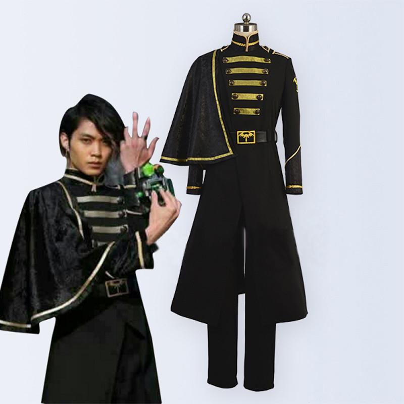 仮面ライダーゴースト ネクロム アラン様 軍服 コスプレ衣装