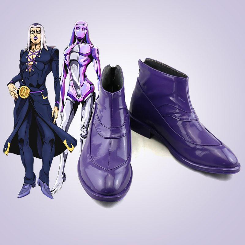 ジョジョの奇妙な冒険 レオーネ・アバッキオ コスプレ靴 靴 道具