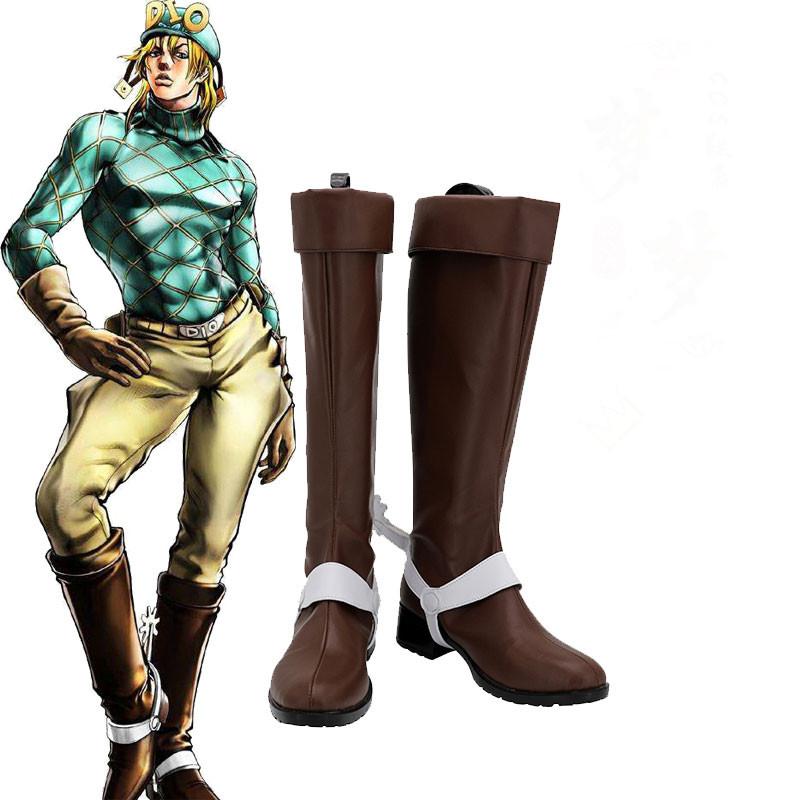 ジョジョの奇妙な冒険 ディエゴ・ブランドー 道具 コスプレ靴  靴