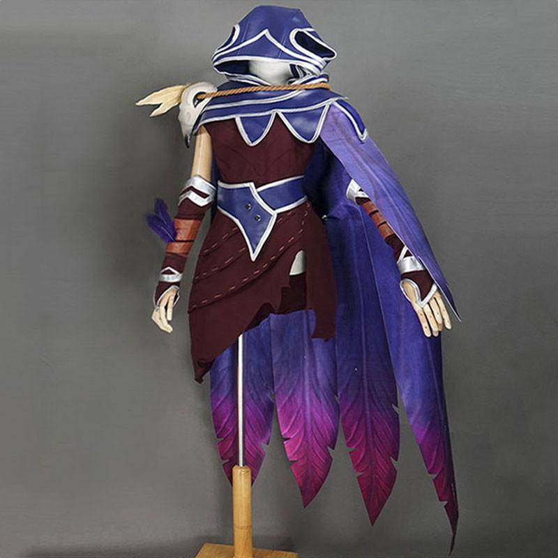 League of Legends lol リーグ?オブ?レジェンド ザヤ 紫色 コスプレ衣装