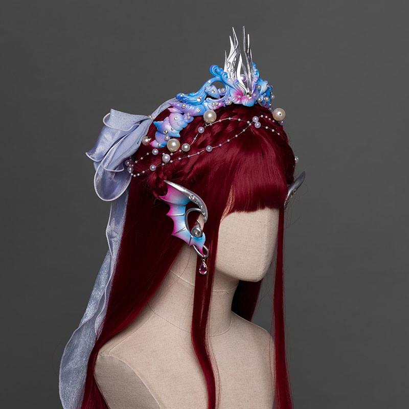 人魚姫 アクセサリー 髪飾り 耳飾り