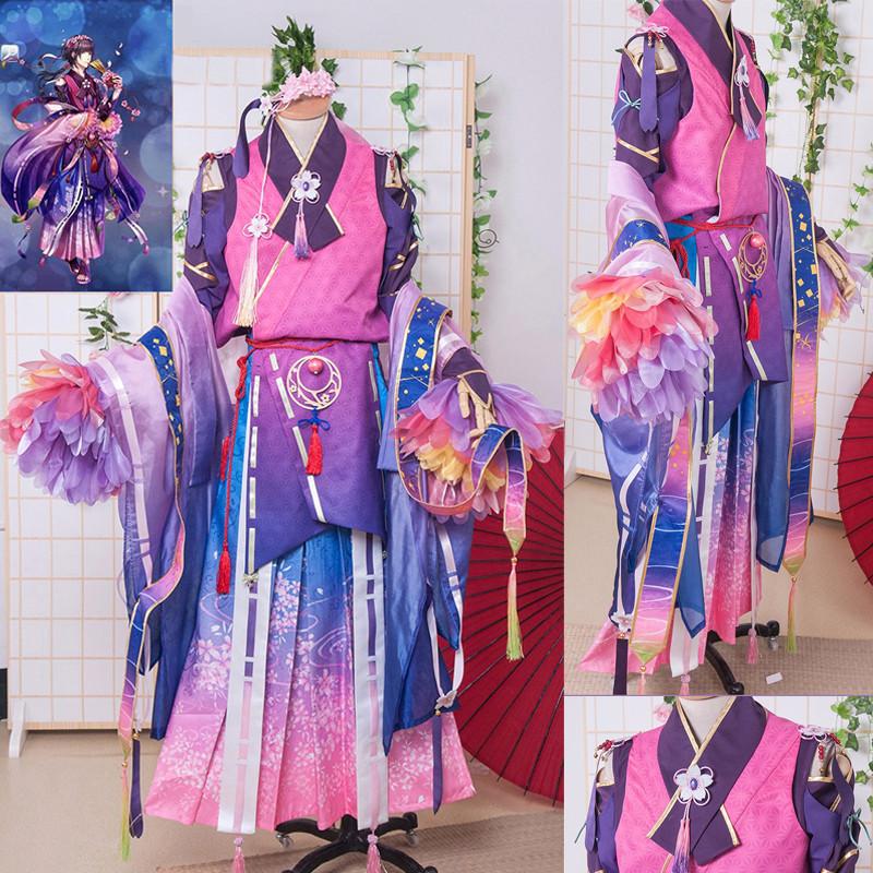 夢王国と眠れる100人の王子様 夢100 桜 sp月觉 コスプレ衣装