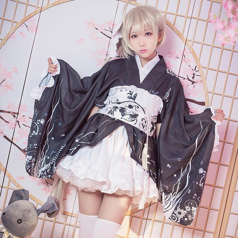 ヨスガノソラ  春日野穹 着物 コスプレ衣装 夏祭り 浴衣 可愛い コスチューム