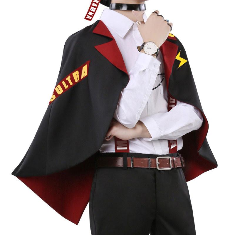 僕のヒーローアカデミア 上鳴電気 コスプレ衣装 日常可能