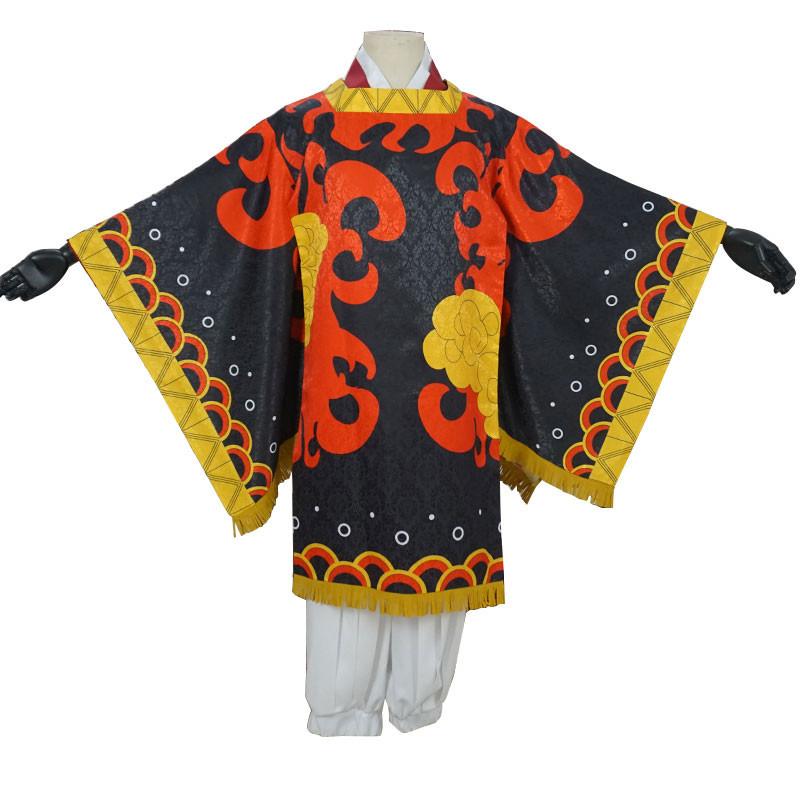 鬼滅の刃 火之神 コスプレ衣装 着物 和服
