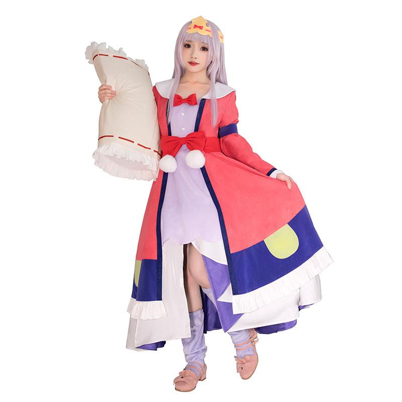 魔王城でおやすみ イェリスプリンセス 可愛い ドレス 寝巻 コスチューム  仮装