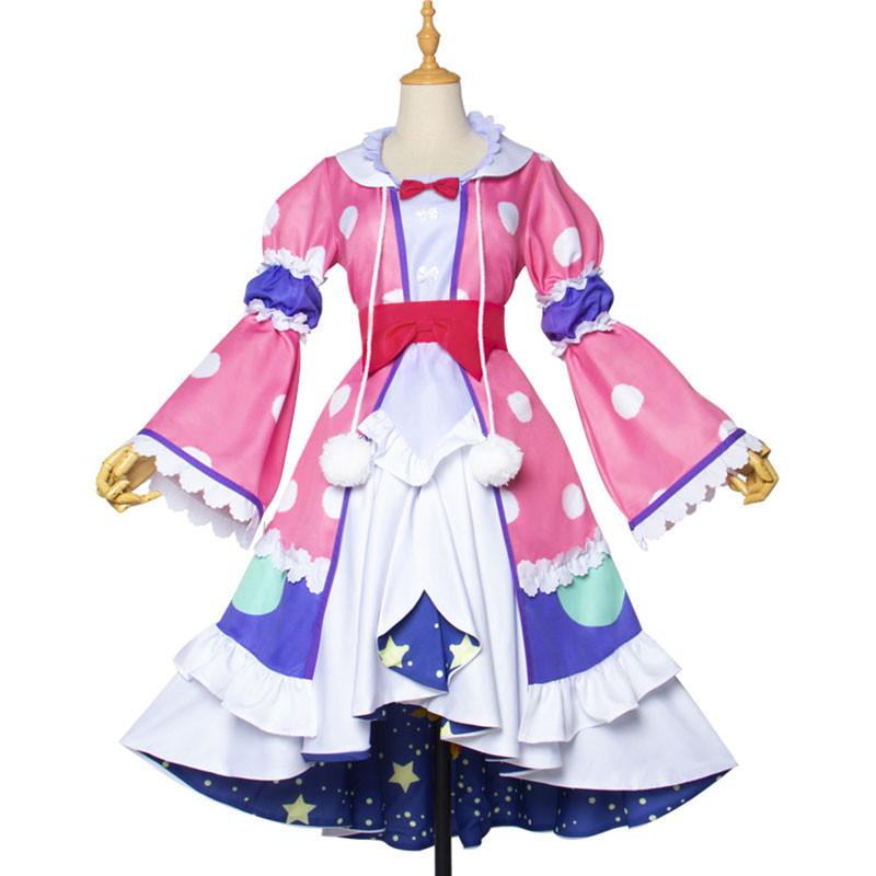 魔王城でおやすみ  イェリスプリンセス 可愛い   ドレス 寝巻  アニメ  コスプレ衣装  コスチューム