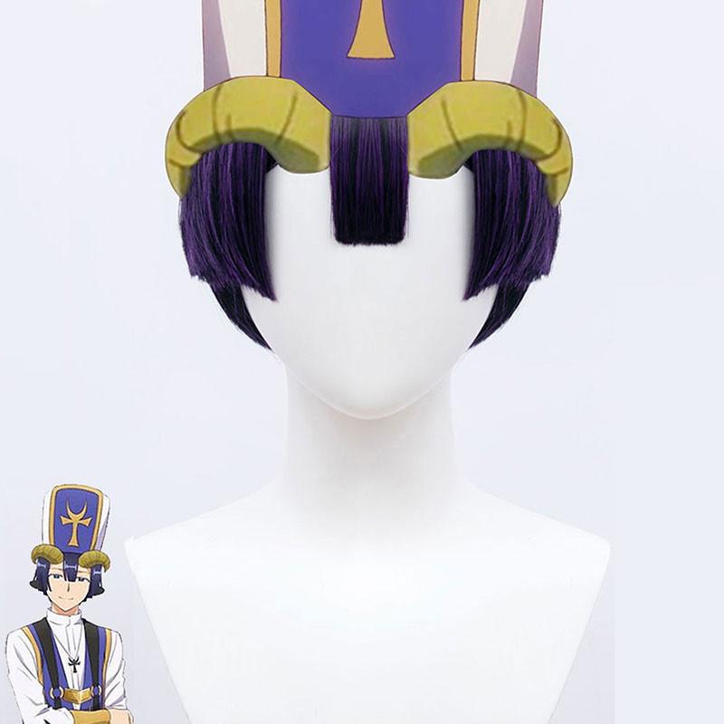 魔王城でおやすみ  悪魔 祭司 ウイッグ コスプレ 仮装