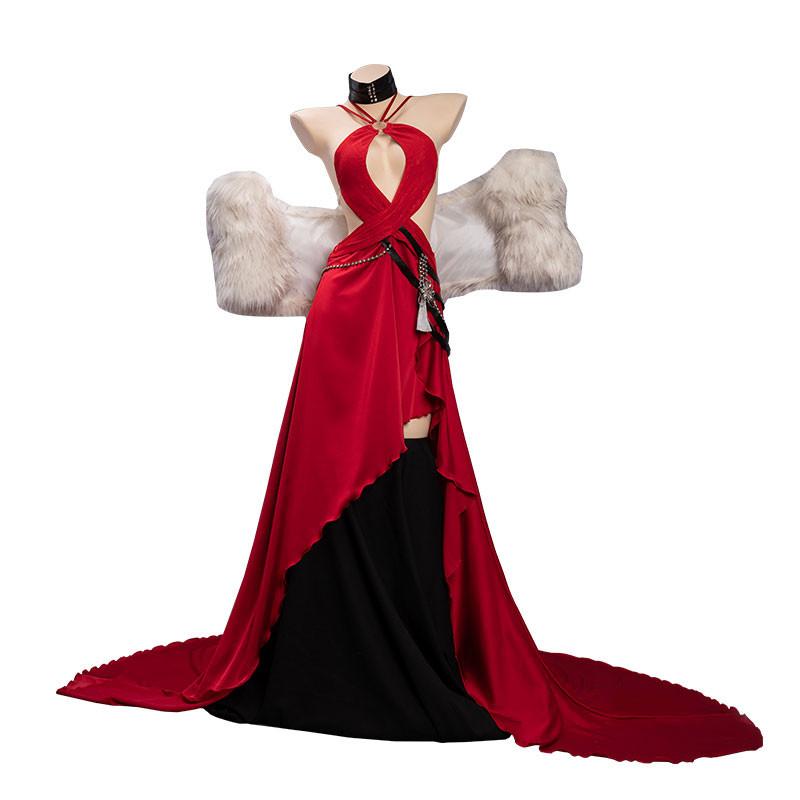 アズールレーン赤城 朱絹の余醺 礼装 赤