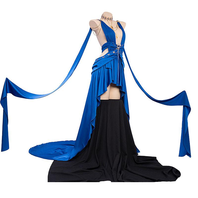 アズールレーン加賀 白羽の貴華 礼装 青色