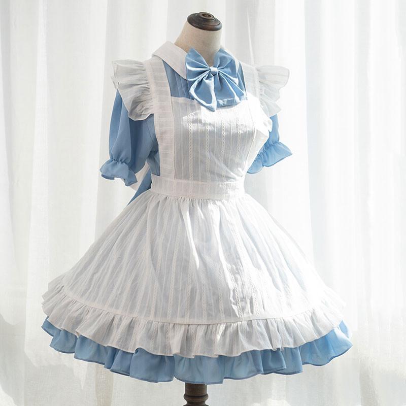 マーメイドメロディーぴちぴちピッチ メイド服 コーヒー 喫茶店服