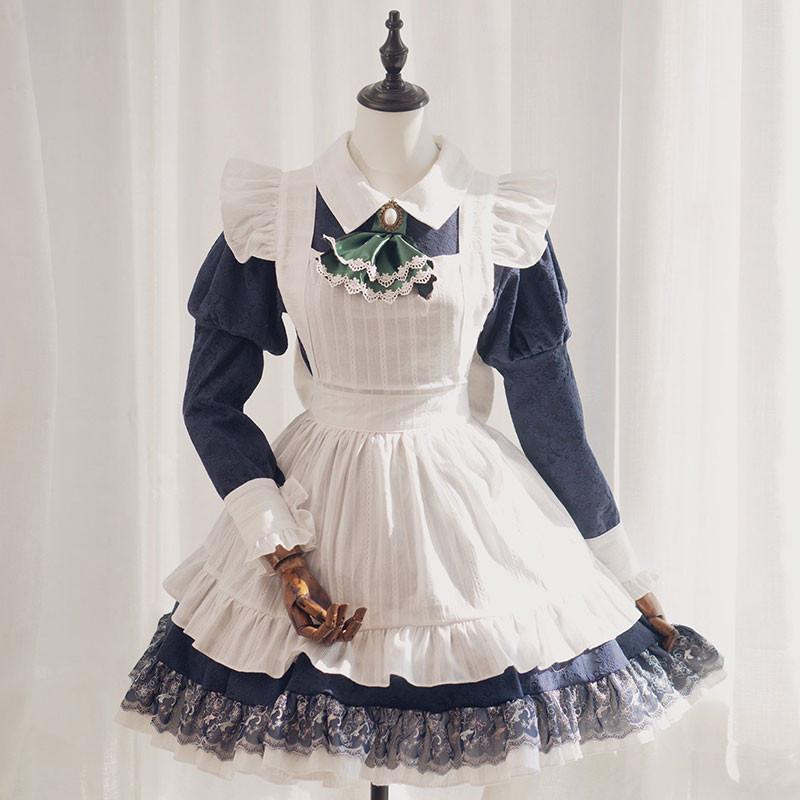 メイドコスプレ 東方Project 十六夜咲夜 カフェメイド服 ショート丈