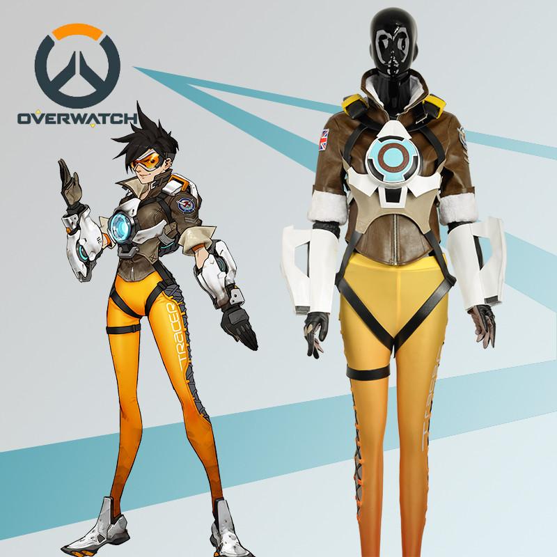 Overwatch オーバーウォッチ  OW トレーサー コスプレ衣装