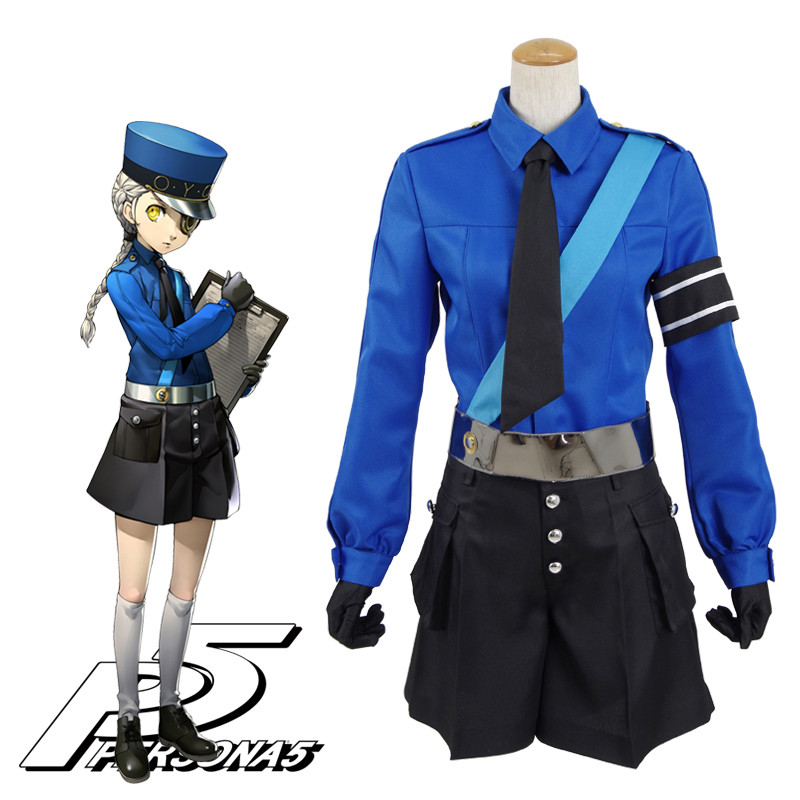 Persona5 ペルソナ5 カロリーヌ ジュスティーヌ 双子の少女 制服 帽子付 コスプレ衣装