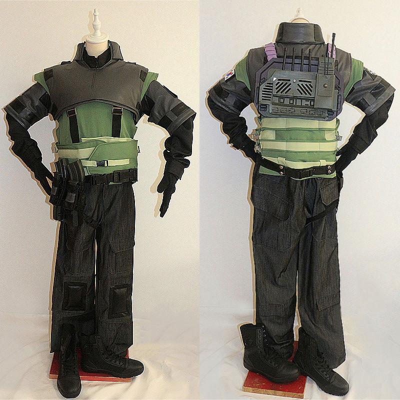 レインボーシックス  シージ  Rainbow Six Siege  ヴィジル VIGIL コスプレ衣装 セット R6S