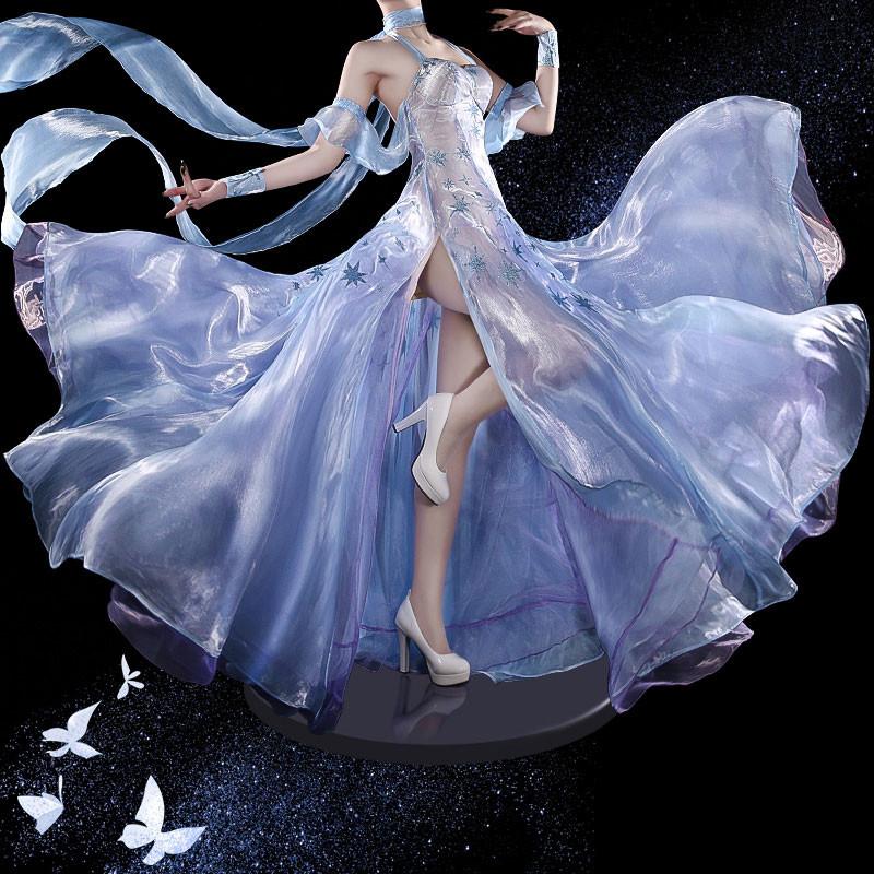 Re:ゼロから始める異世界生活  エミリア ドレス  コスプレ衣装 綺麗