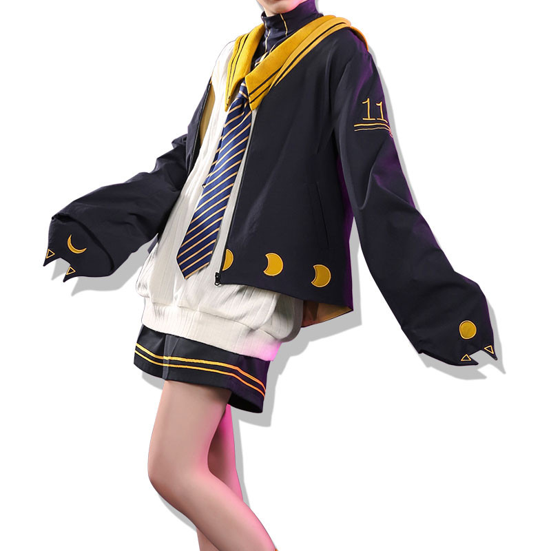 vocaloid 鏡音レン コスプレ衣装 学院風 洋服 セット