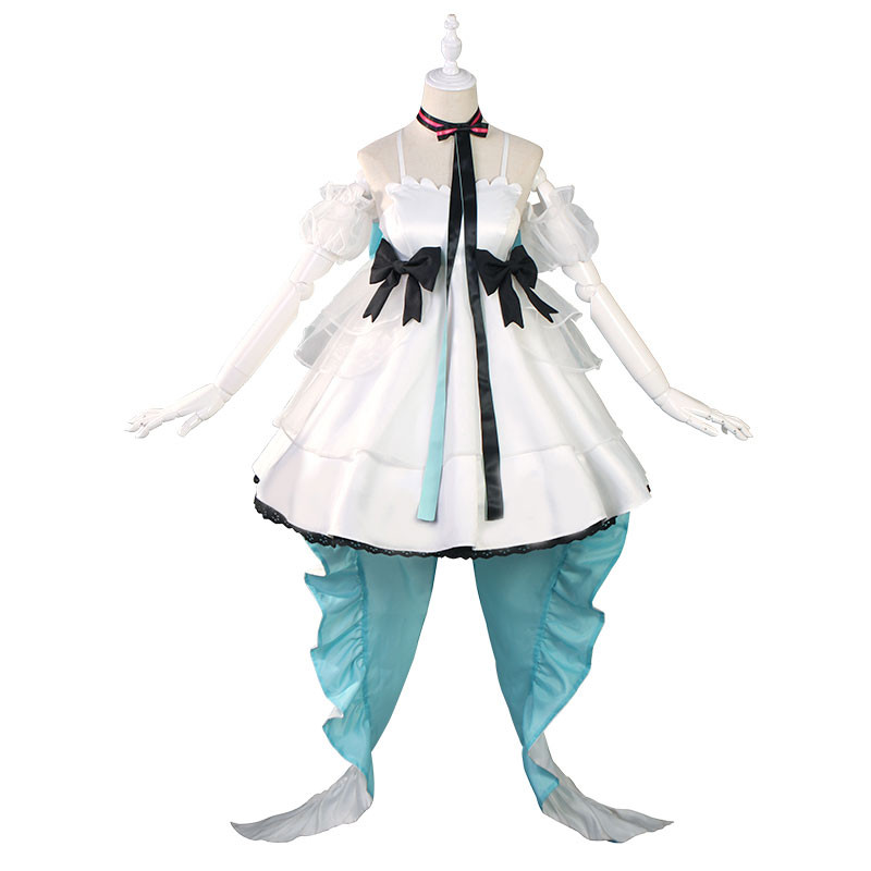 MIKU WITH YOU 2019 舞い踊るフェアリー ボーカロイド コスプレ衣装 初音ミク