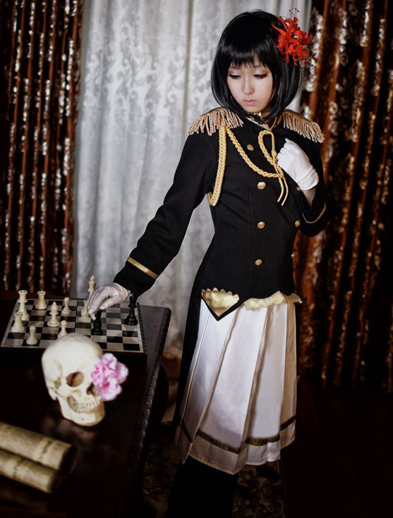 ヘタリア Axis Powers 日本娘 にょたりあ 本田桜 コスプレ衣装 軍服 女性版 コスチューム
