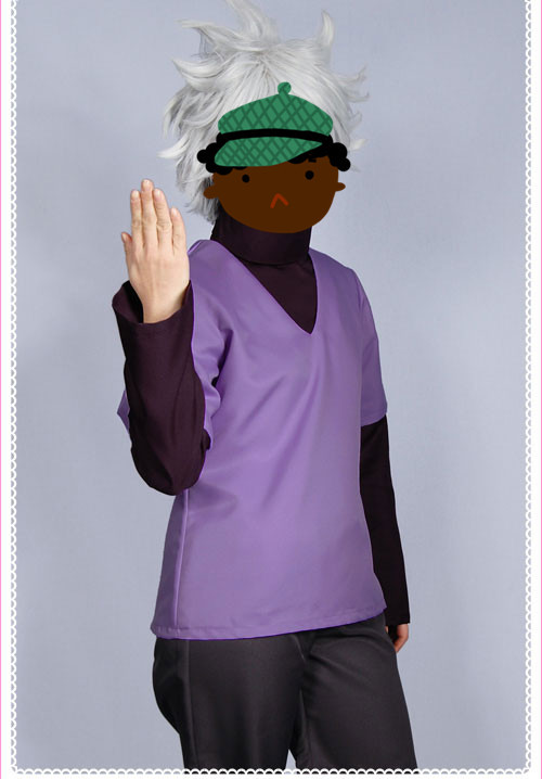 HUNTER×HUNTER ハン ターハンター キルア=ゾルディック風 コスプレ衣装