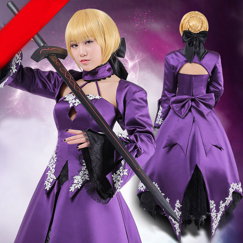 Fate/Stay night フェイト/ステイナイト―セイバー☆Saber(TYPE-MOON saber alter 2nd ver) コスプレ衣装