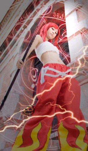 フェアリーテイル Fairy Tail  エルザ?スカーレット コスチューム コスプレ衣装
