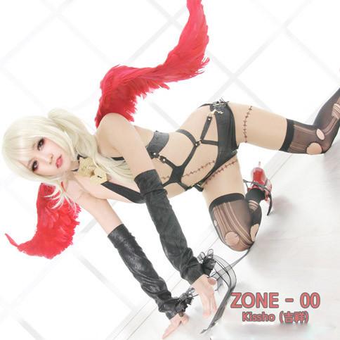 ZONE-00(ゾーン ゼロゼロ) 紅緒·吉祥(べにお·きっしょう)バトル衣装 コスプレ衣装