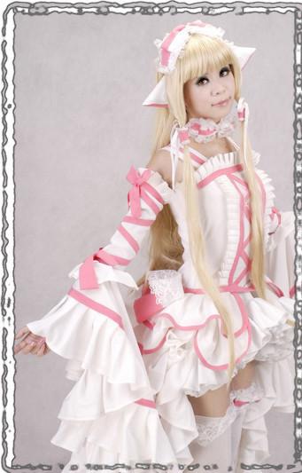 Chobitsちょびっツ ちぃちゃん ロリータ洋服 コスプレ衣装