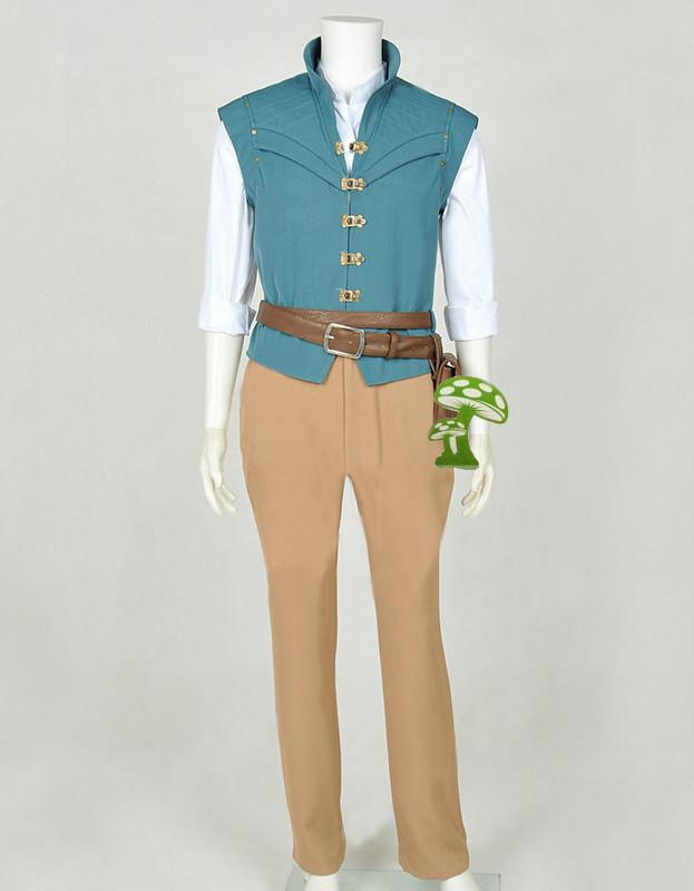 ディズニー版『塔の上のラプンツェル』 フリン?ライダー コスプレ衣装 コスチューム