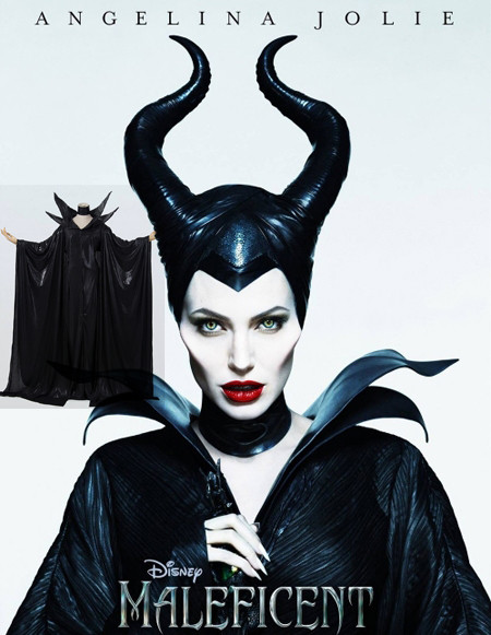 マレフィセント Maleficent  魔女 アンジェリーナジョリー 眠れる森の美女 オーロラ姫 ハロウィン かわいいドレス ワンピース コスプレ衣装