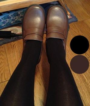 【ラバーソール】【ロリータ靴 】ドクターマーチンスブーツスタイルのサドルシューズ