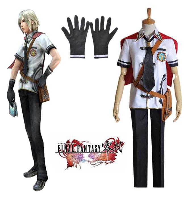 ファイナルファンタジー零式 Final Fantasy Type-0 エース Ace 朱雀魔法学院 夏服 コスプレ衣装