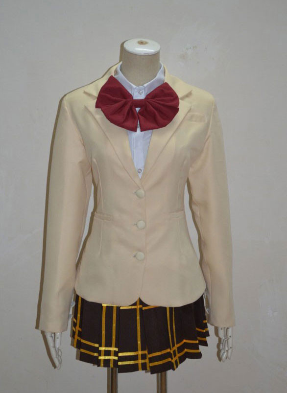 とある科学の超電磁砲レールガン 常盤学校女子制服 冬服 コスプレ衣装